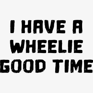 Ik heb een leuke tijd in mijn rolstoel