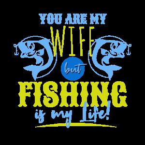 Angeln oder Ehefrau ?