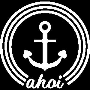 Ahoi Anker - ahoy anchor mit Herz