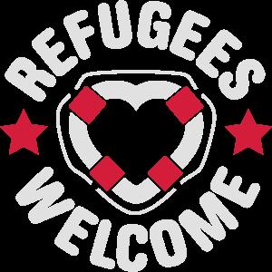 refugees rettungsring herz