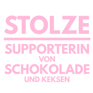 Stolze Supporterin