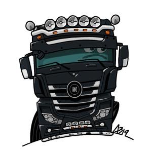 0807 M truck zwarter