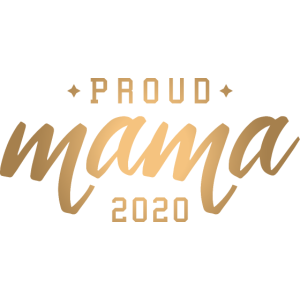 Proud Mama Stolz Kind Baby gold - 2020