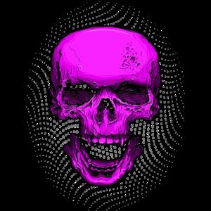 Pinker Totenkopf