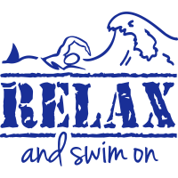 RELAX & swim on, any colour