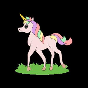 Einhorn Fantasie Pferd Geschenkidee