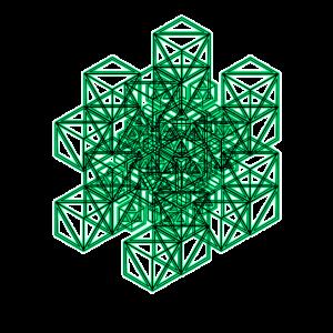 Geometrie Muster Shirt Goa Techno Rave Elektro