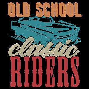 Old school classic riders