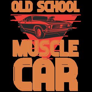 Old school muscle car