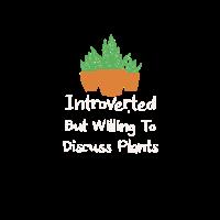 Introvertierter Pflanzenliebhaber