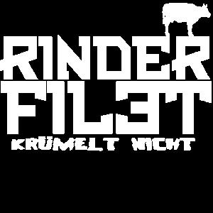 Rinder Filet Fleisch Geschenk Lustig