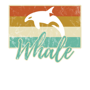 Retro Orca Wal