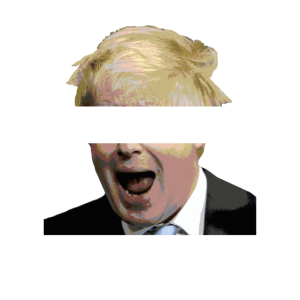 Boris Johnson Nicht mein Premierminister Anti Tory