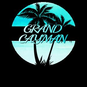 Grand Cayman Palm Trees Souvenir Urlaubsreisen