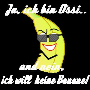 Shirt Banane Ossi lustig