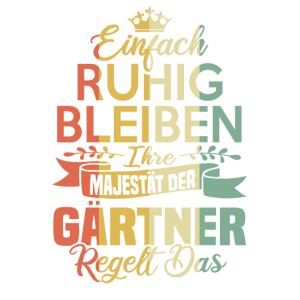Garten Gärtner Schrebergarten Pflanzen Geschenk