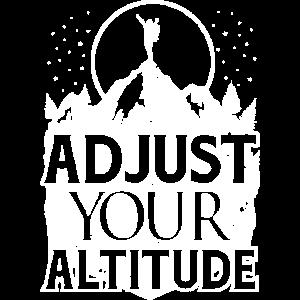 Hiking Adjust Your Altitude Hiker