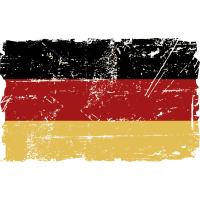 Germany Flag - Vintage Look