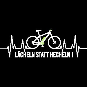 E-Bike Pedelec lustiges Geschenk Fahrrad eMTB Rad