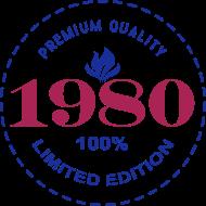 Jahrgang 1980 Geburtstagsshirt: 1980 PREMIUM QUALITY || 100% LIMITED EDITION