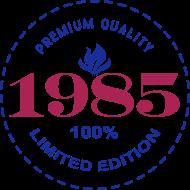 Jahrgang 1980 Geburtstagsshirt: 1985 PREMIUM QUALITY || 100% LIMITED EDITION