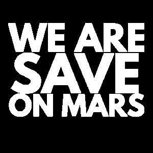Wir sind sicher auf dem Mars