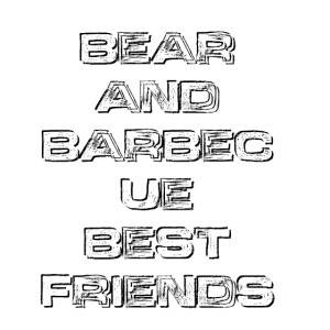 BEAR AND BARBECUE BEST FRIENDS12