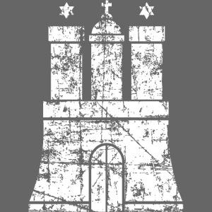 Hanburger Wappen (Vintage Weiß) Hamburg Design
