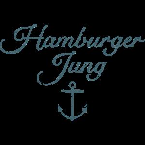 Hamburger Jung (Vintage Blau) Hamburg Anker