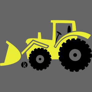 Traktor Frontlader Bulldog Radlader mit Schaufel