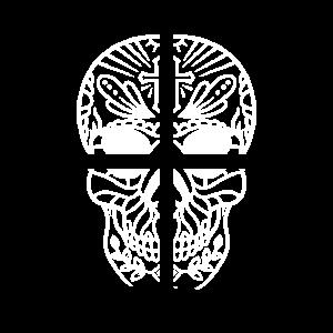 Skull Cross Totenkopf