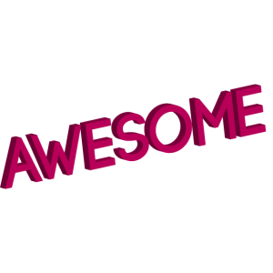 Awesome_since_1985 pink