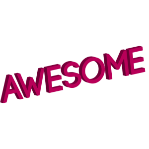 awesome_since_1997 pink