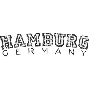 Hamburg Germany (Vintage/Weiß)