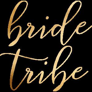bride tribe - JGA - Hochzeit - Goldoptik - Braut