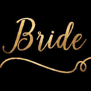 Bride - JGA - Bachelor Party - Wedding - Gold