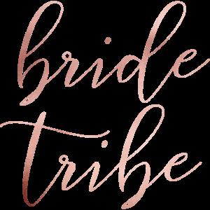 bride tribe - JGA - Wedding - Braut - Rosegold