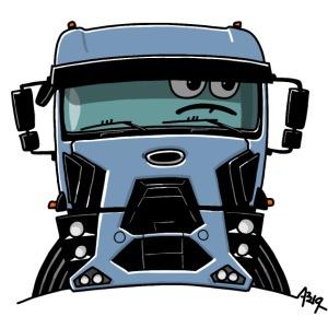 0812 F truck blue