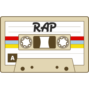 Audio Kassette Vintage Retro RAP Cassette MIX-Tape