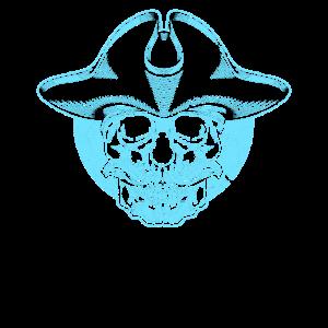 Pirat Seeman General Schnurrbart Skull Totenkopf