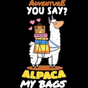 Alpaka Tier Abenteuer
