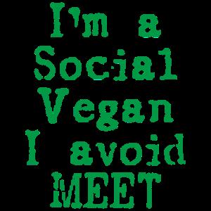 Vegan Fleischfrei Veggie Spruch Geschenk
