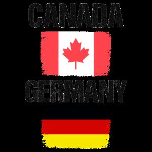 Kanada Kanada-Flagge Deutschland Geschenk
