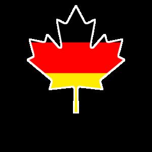 Kanada Kanada-Flagge Deutschland Lustig Geschenk