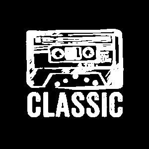 Retro Kassette Vintage Classic Oldschool