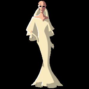 Skelett Braut, hochzeit heiraten halloween