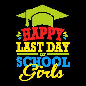 Glücklicher letzter Schultag | Sommer | Frühling |