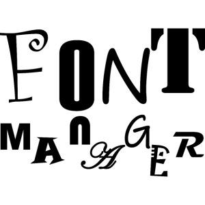 Font Manager #1