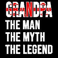 Georgia Grandpa Legend Vatertag