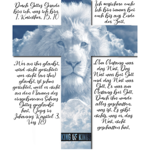 Jesus der Löwe | King of Kings Jesus Shirt